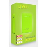 UNEED Powerbank 7800 mAh [UPBN 7.1] - Green - Portable Charger / Power Bank